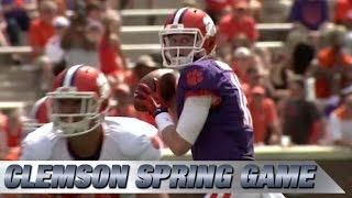 2015 Clemson Spring Football Game Highlights