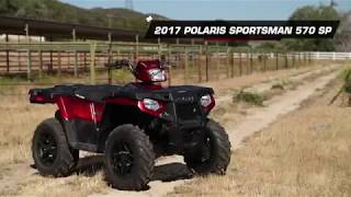 5. 2017 Polaris Sportsman 570 SP 4x4 ATV Review