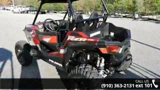 1. 2016 Polaris RZR S 900 EPS Matte Sunset Red  - Sport Cycl...