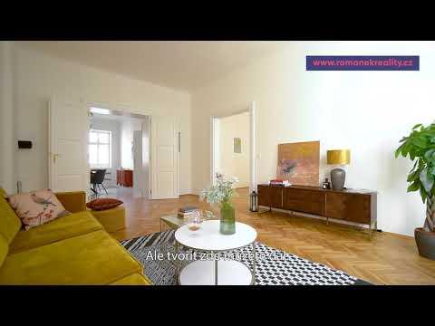 Video Prodej, byt 2+1, 85m2, ul.Rubešova, Praha 2-Vinohrady