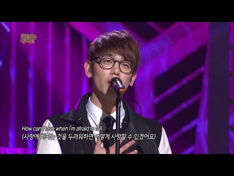 【TVPP】Eric Nam - A Thousand Years, 에릭남 - 어 따우전 이얼즈 @ Beautiful Concert Live