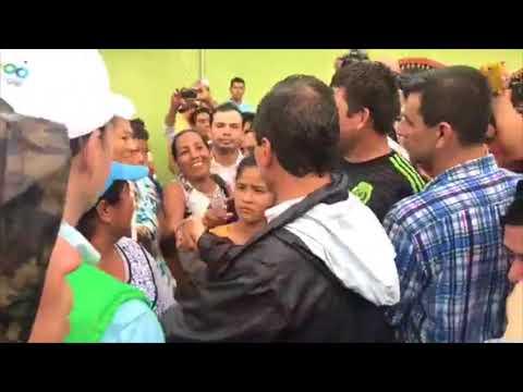 Durante su visita por Chiapas, EPN se sorprendió por la gran cantidad de gente