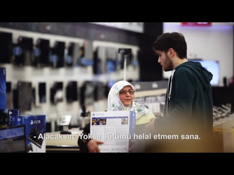 Kipa Anneler Gününe Özel Reklamı - Gülme Garantili