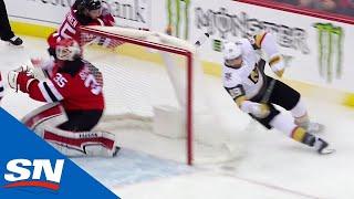 Alex Tuch Uses Wraparound To Tuck Goal By Cory Schneider by Sportsnet Canada