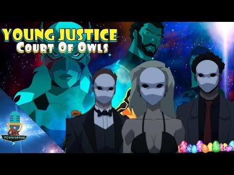 The Court of Owls?? Young Justice Season 3 Episodes 10-13 Easter Eggs
