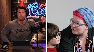 REBUTTAL: SJW Youtube EXPLOITS Children With False Gender Theory! | Louder With Crowder