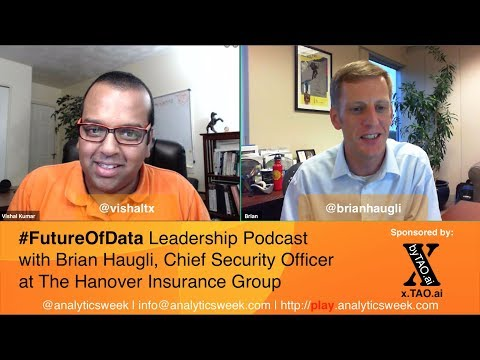 @BrianHaugli @The_Hanover on Building a #Leadership #Security #Mindset