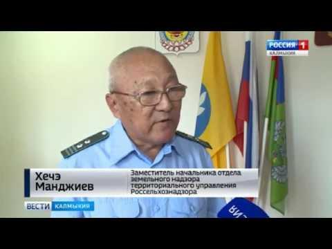 О выявлении на территории Республики Калмыкия  нарушений земельного законодательства