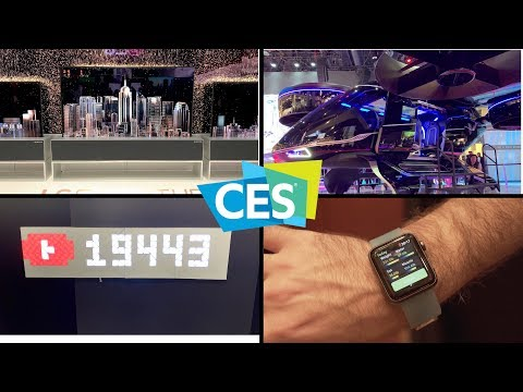 CES Day 3 Roundup (Rollable OLED TV, Electric Air Taxi, And More)