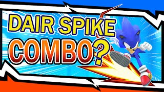 Sonic's Dair Spike Combo – Tutorial