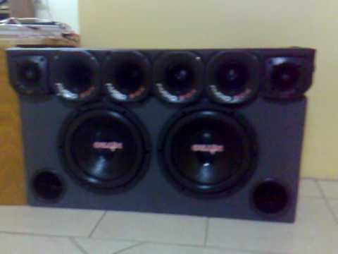 Nitro 700 RMS - batendo forte - Festa do DJ Maurinho - Spyder som automotivo, festa na garagem