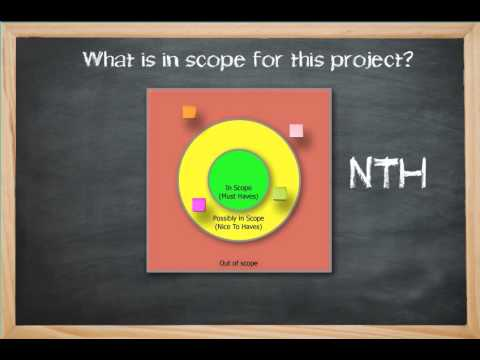 how to define scope of software project