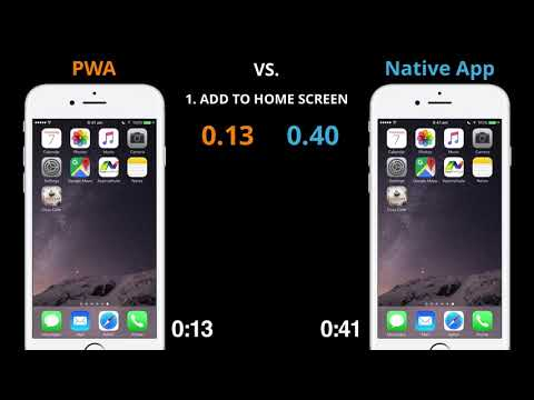 Progressive Web App vs. Native App (видео)