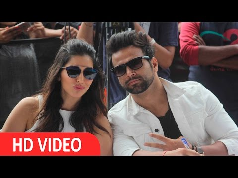 Sophie Choudry & Rithvik Dhanjani At NM College Umang Festival