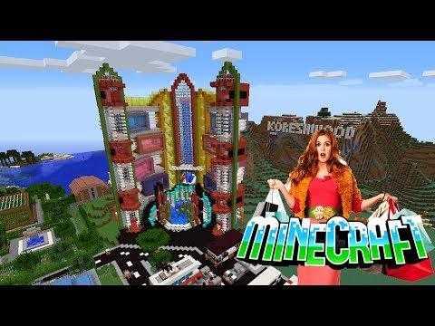 #36 Торговый центр в Minecraft!!! +стоматология
