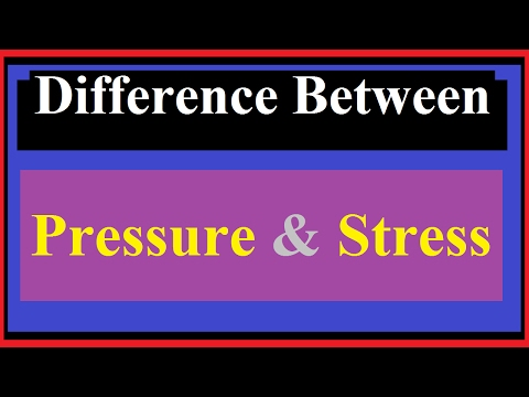 Difference Between Pressure And Stress [all Awesome Points]