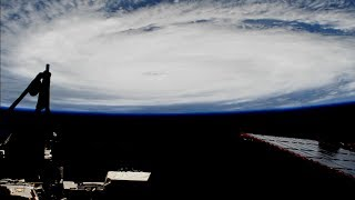 ISS Passes Over Hurricane Irma - 9/6/2017
