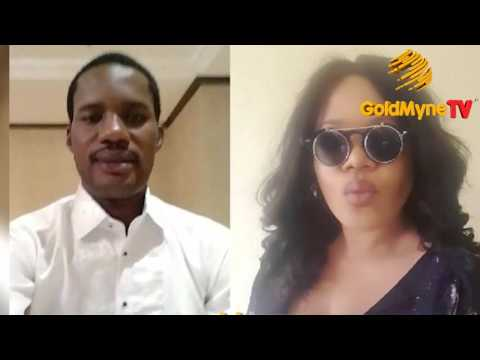 WATCH INTERVIEW: TOYIN AIMAKHU'S EX LOVER, SEUN EGBEGBE SAYS SHE CAN'T STAY UNDER ANY MAN'S ROOF
