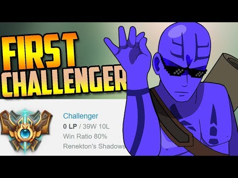 THE FIRST PERSON TO REACH CHALLENGER (In Season 8)