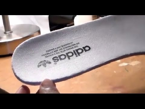 How to Prevent Logo From Coming off insole!