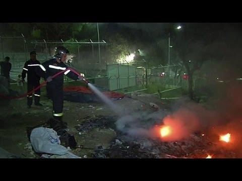 Λέσβος: Δύο πρόσφυγες νεκροί από έκρηξη στον καταυλισμό της Μόριας