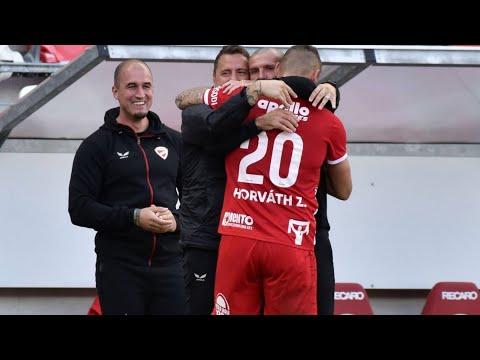 Horváth Zoltán gólja (DVTK - PMFC, 6. forduló)
