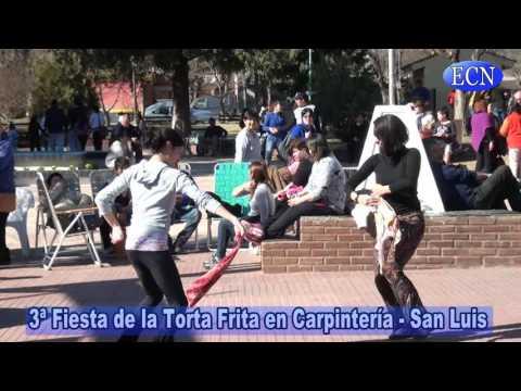 Exitosa convocatoria en la Fiesta de la Torta frita en Carpintería