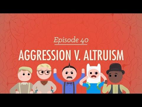 Aggression V. Altruism: Crash Course Psychology #40