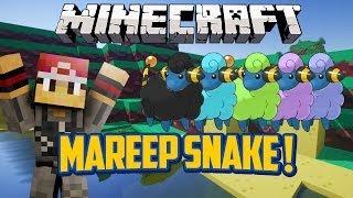 Mareep Snake (Snake Game) Minecraft Mini-Game w/xRpMx13