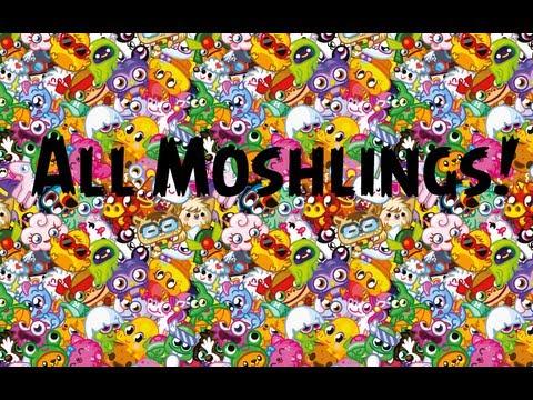 All Moshlings september 2013
