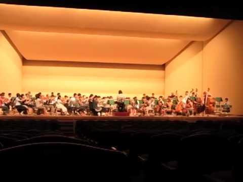 からつジュニアオーケストラ第九リハーサルAug21.2011