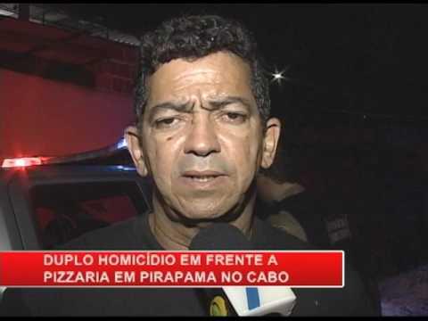 [RONDA GERAL] Duplo homicídio em Pirapama, Cabo de Santo Agostinho