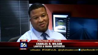 Cozen O' Connor Labor and Employment Attorneys Charles Wilson and David Barron on Fox 26 Houston