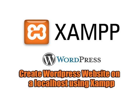 how to create a website using xampp and wordpress