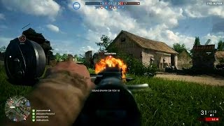 Battlefield 1 Multiplayer Gameplay (PC Pre-Alpha Game Play)