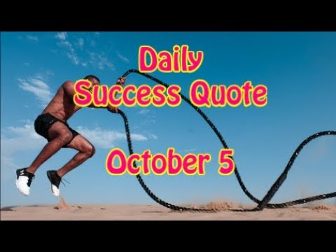 Quotes on life - Daily Success Quote October 5  Motivational Quotes for Success in Life