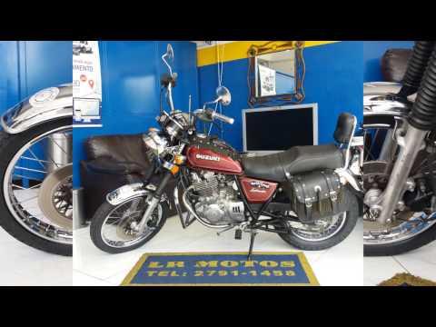 LR Motos - Revisão de Moto Concluida - Suzuki Intruder 250 Vermelha - 9481