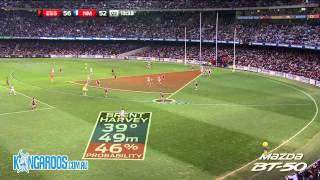 The top five plays from North Melbourne's 24 point defeat of Essendon at Etihad Stadium in Round 20, 2012 Register your vote for the best play at http://bitl...