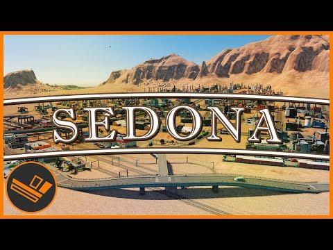 Sedona - Part 49 | HUGE DESERT BUILD (Cities: Skylines) (видео)