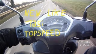 6. Kymco New Like 125i 2018 - Top Speed, Acceleration, POV Test Drive