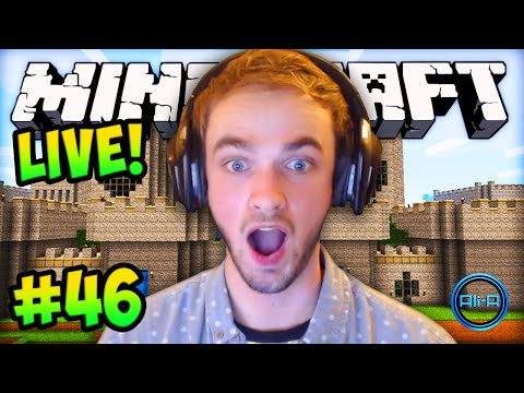 "MINECRAFT (How To Minecraft) – w/ Ali-A #46 – ""BIG HOUSE UPGRADE!"""