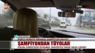 Burcu Burkut Erenkul - ATV - Kahvaltı Haberleri - Canlı Yayın - 16.01.2014