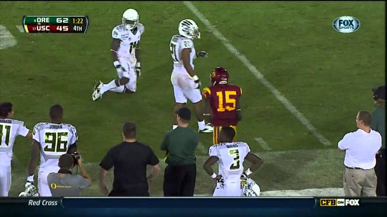 Ifo Ekpre-Olomu vs USC, Arizona, Oregon State (2012)