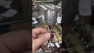 Рюмка Серебряная без черни