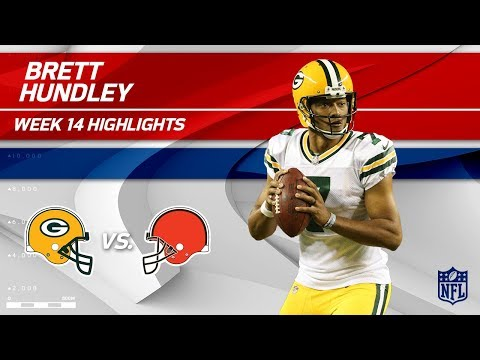 Video: Brett Hundley's Superb Game w/ 3 TDs vs. Cleveland! | Packers vs. Browns | Wk 14 Player HLs