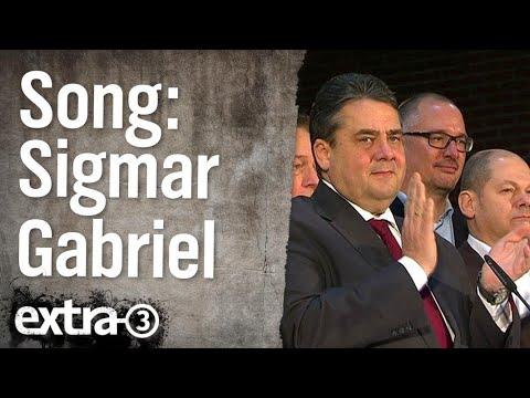 Sigmar Gabriel - dich wird keiner wählen | extra 3