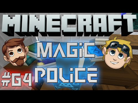 Minecraft Magic Police #64 – Free Shower (Yogscast Complete Mod Pack)