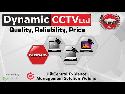 HIKCENTRAL Evidence Management Solution
