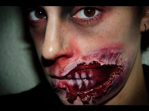 Maquillaje Halloween 5: Zombie FX (efectos especiales)    Silvia Quiros