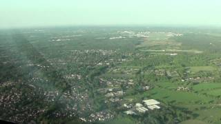 Farnborough United Kingdom  City pictures : Landing Farnborough Airport, UK